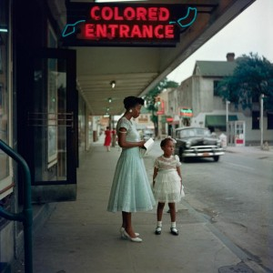 "The ""horrors"" of Jim Crow era segregation.  (photo by Gordon Parks)"