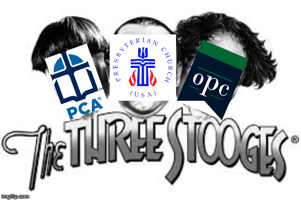 Exclusive: a Preview of the Upcoming Three Presbyterian Stooges Movie