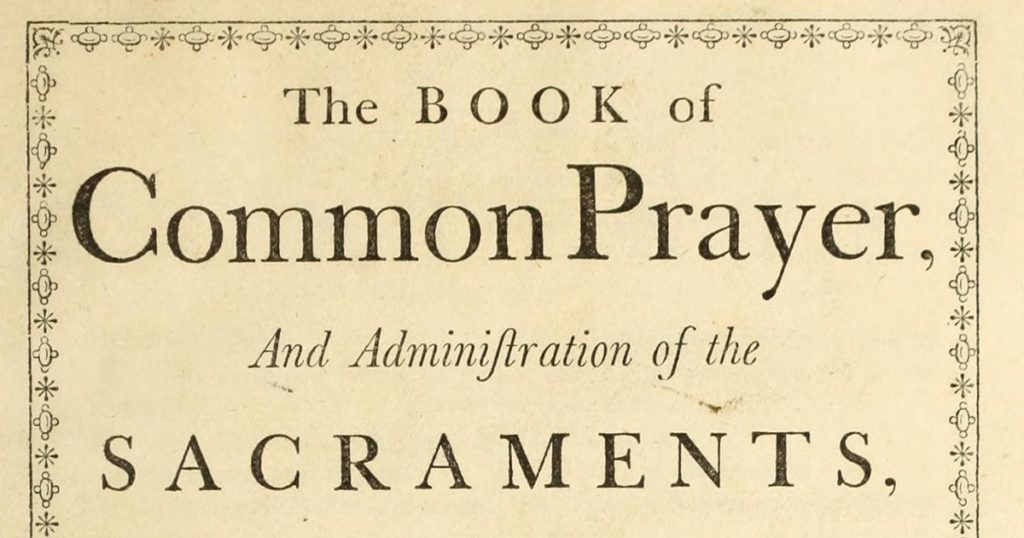 The Compromise of the 1928 Book of Common Prayer Lectionary